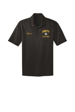 Amity Port Authority Silk Touch Performance Polo Black Image